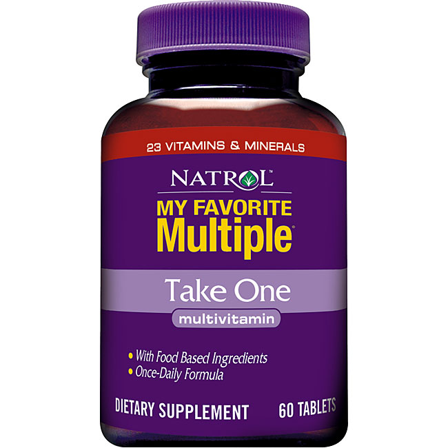 Natrol My Favorite Multiple Take One Multivitamin (180-count)