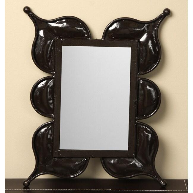 Iron Rectangular Mirror (Morocco)