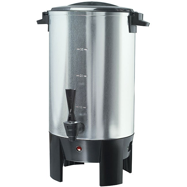 Pro Series Stainless Steel 30-cup Coffee Urn