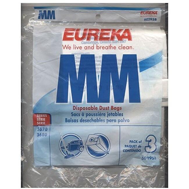 """Eureka Replacement Vacuum Bags (Pack of 3) (Eureka""""mm"""" Ba..."""