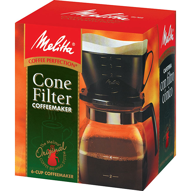 Melitta Six-cup Coffee Maker - Free Shipping On Orders Over USD 45 - Overstock.com - 11944624