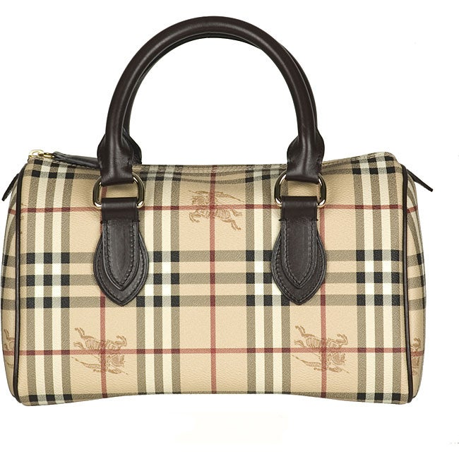 Shop Burberry Chester Hym Large Bowler Bag Free Shipping Today