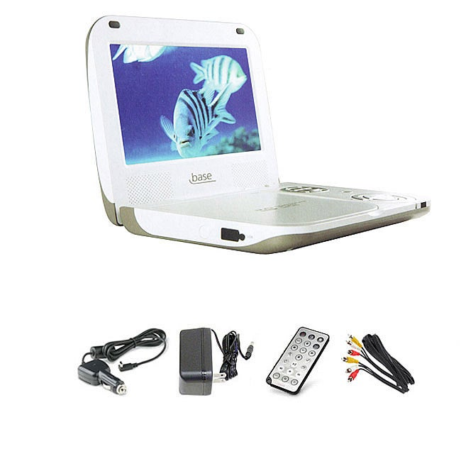 Base DVP-807 8.25-inch Portable DVD Player Kit