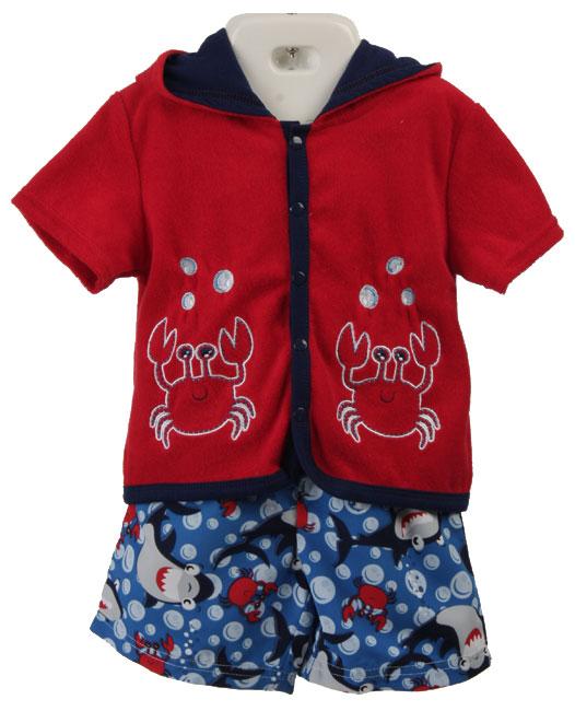 Baby Togs Infant Boy's 2-piece Bathing Suit Set