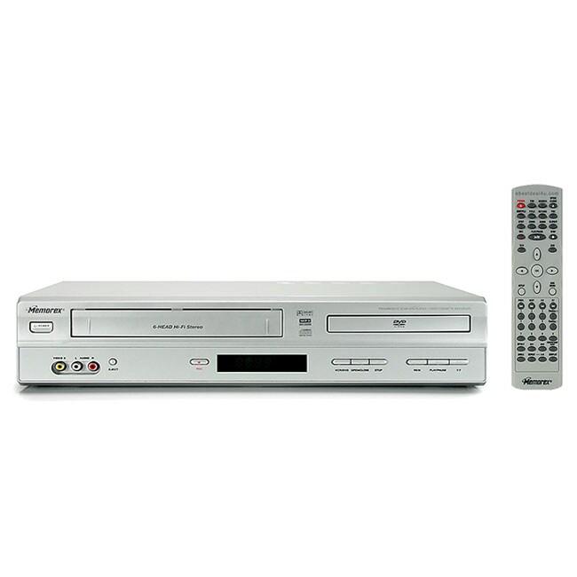 Memorex MVD4544 DVD VCR Combo Refurbished Free