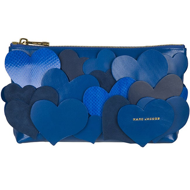 Marc Jacobs Blue 'Love Story' Clutch