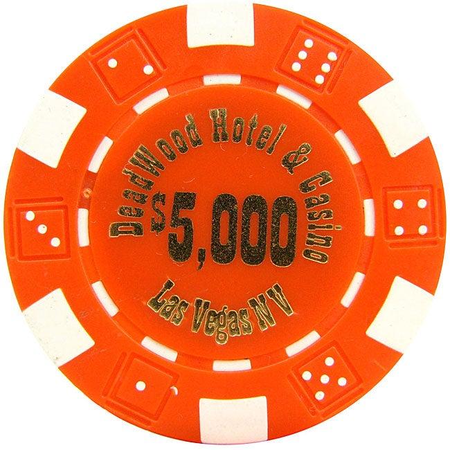 Deadwood Casino High-dollar Poker Chips (Set of 1,000 Chips)