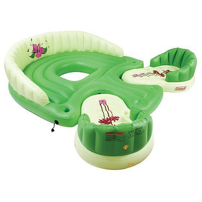 Coleman Docking Island 2 Chair Inflatable Free Shipping Today 11956960