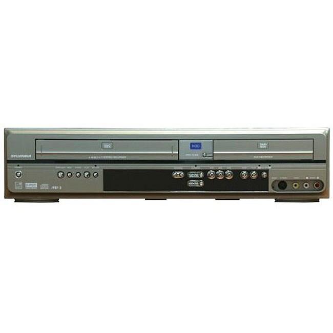 Sylvania HDRV200F 3-in-1 DVD/VCR with 160GB Digital Recorder