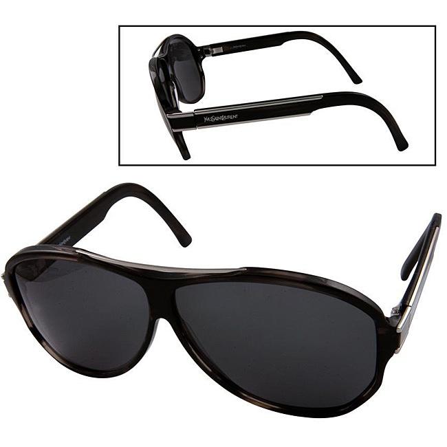 86d474703 Shop Yves Saint Laurent 2218/S Women's Dark Horn Sunglasses - Free Shipping  Today - Overstock - 3916869