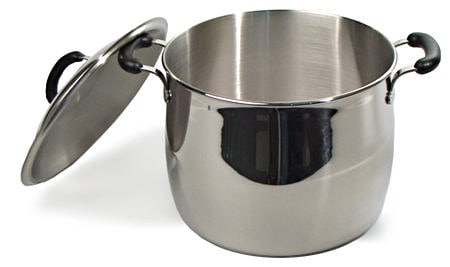 Bella cuisine 12 quart covered stock pot free shipping for Art cuisine cookware reviews