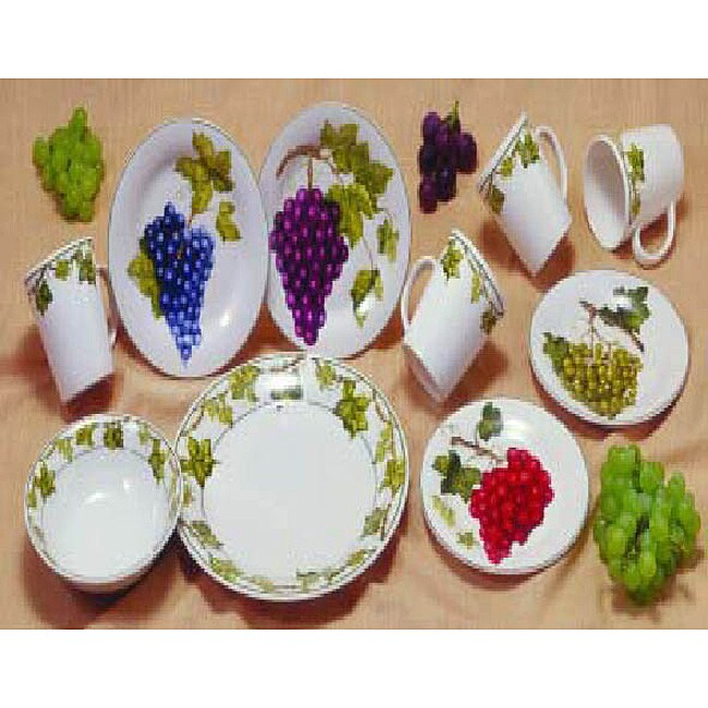 American Atelier Vineyard 16-piece Dinnerware Set