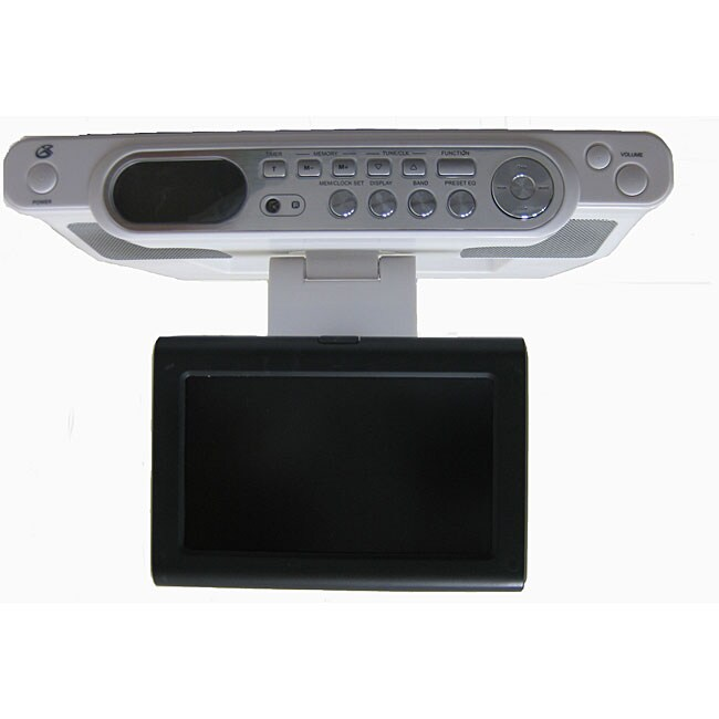 GPX KCL8806DT 7-inch Under Counter LCD TV/Radio ...