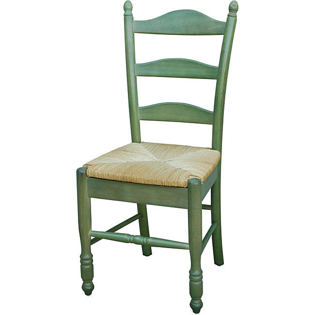 Simple Living Green Ladder-back Chair