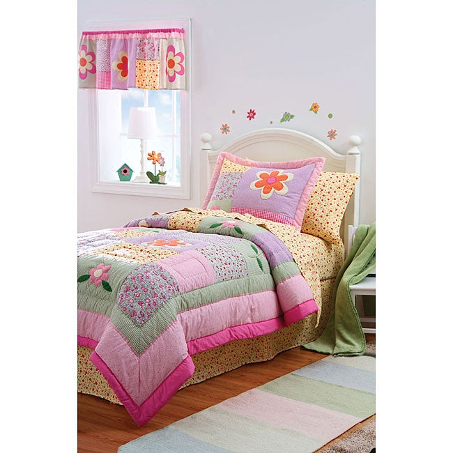 Dorinda 3-piece Cotton Quilt Set