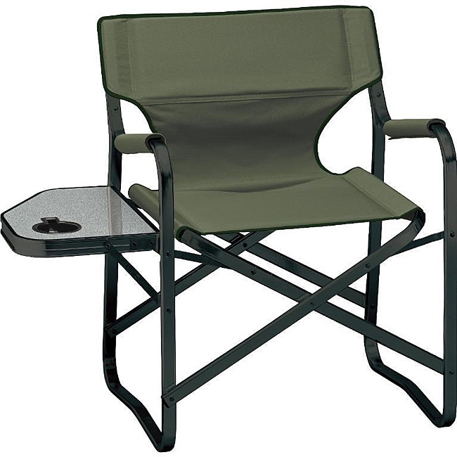 Coleman Sycamore Portable Deck Chair And Table Free