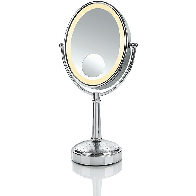 Shop Conair Be86 Oval Triple Magnification Lighted Mirror