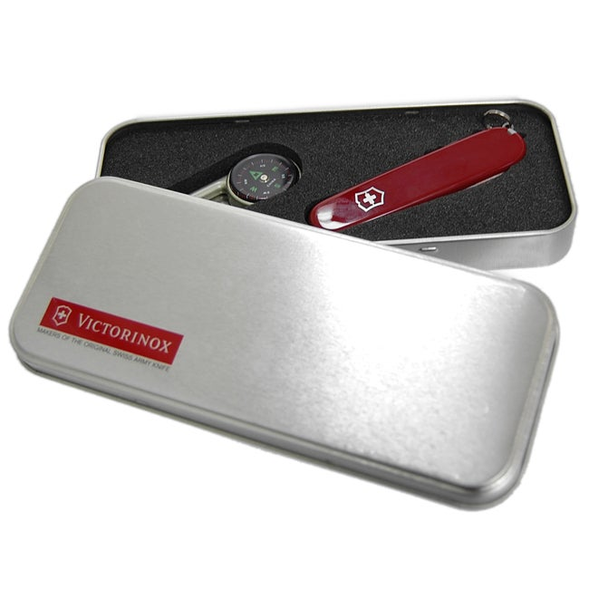 Victorinox Swiss Army Spartan Knife with Compass