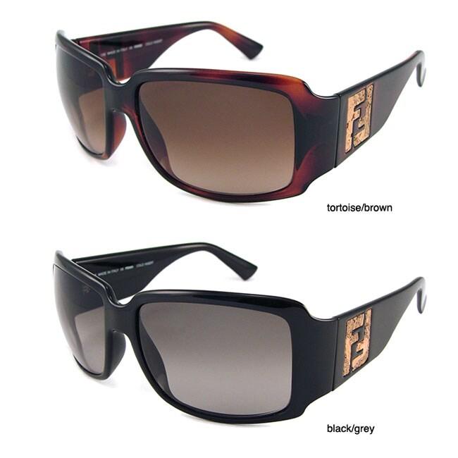 713ab23e45f0 Shop Fendi FS500 Women s Plastic Sunglasses - Free Shipping Today -  Overstock - 3934921