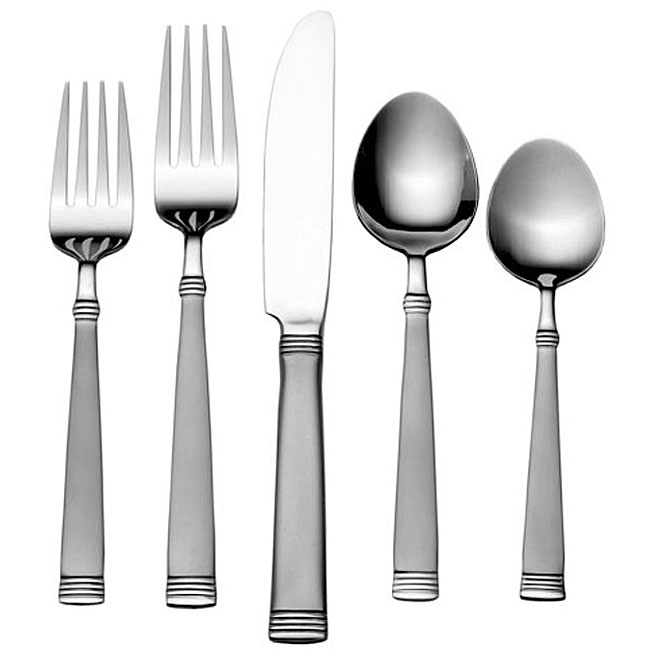 International Silver Palisades Frost 65-piece Flatware Set