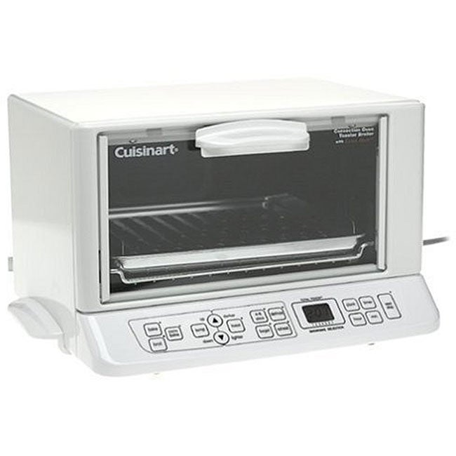 Countertop Convection Oven Cuisinart Toaster Oven : Cuisinart TOB-135W Convection Toaster Oven/Broiler (Stainless Steel ...