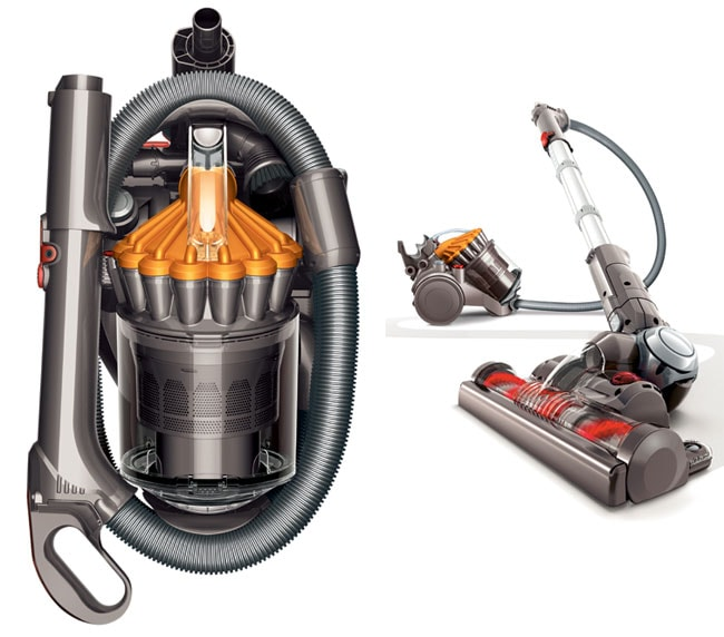 dyson dc23 motorhead stowaway canister vacuum new free shipping today 11976944. Black Bedroom Furniture Sets. Home Design Ideas