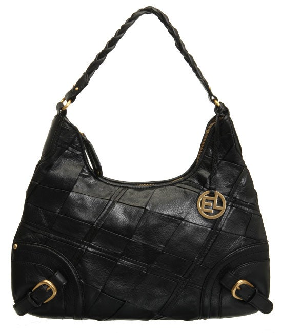 Elliott Lucca Pascal Black Leather Hobo Bag Free Shipping Today 11979971