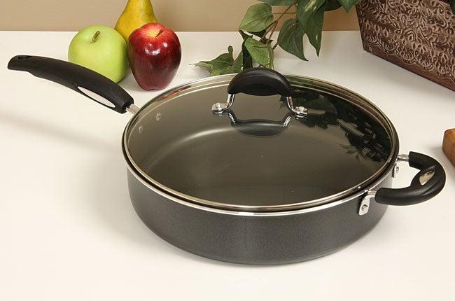 Shop Bialetti Deep 12 Inch Nonstick Saute Pan Free