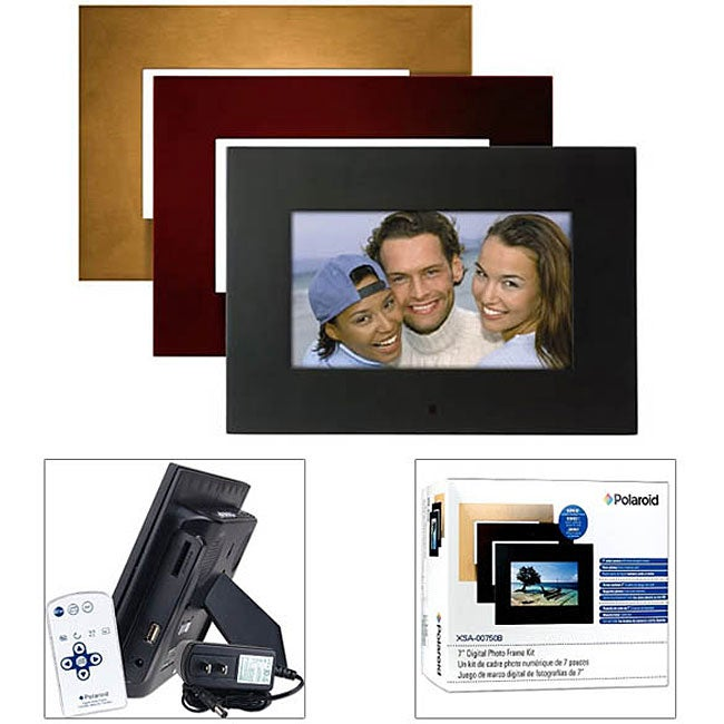 Shop Polaroid Xsa 00750b Digital Picture Frame Free Shipping Today