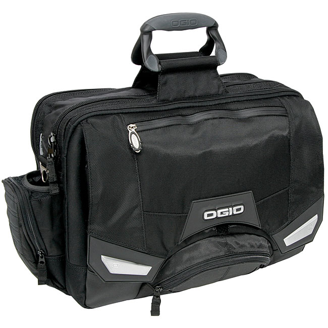 Ogio Boss Black Ss Laptop Messenger Bag