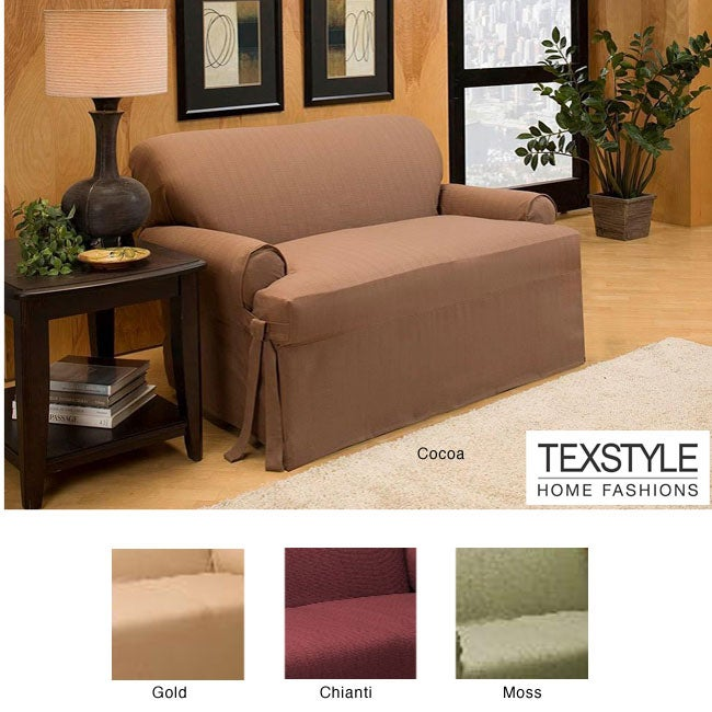 TexStyle Sussex T-cushion Sofa Slipcover