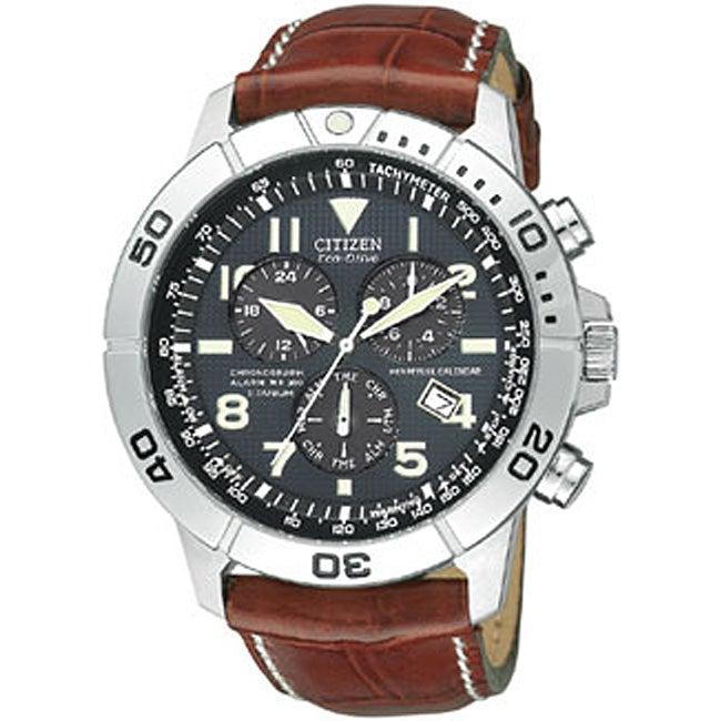 Citizen Eco-Drive Men's Calendar Chronograph Watch
