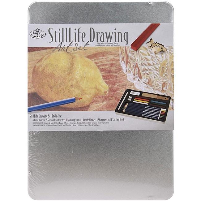 Royal Brush & Langnickel 19-piece Still Life Drawing Art Set