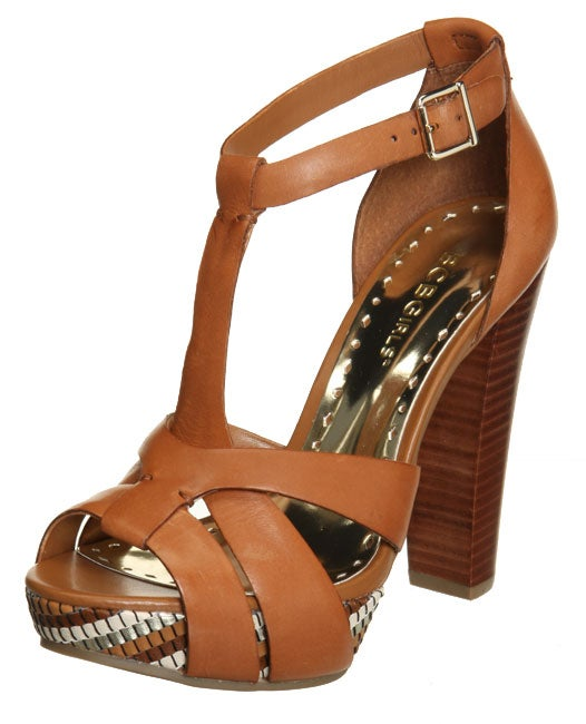 BCBGirls Women's 'Slim' Amaretto High-heel Sandals