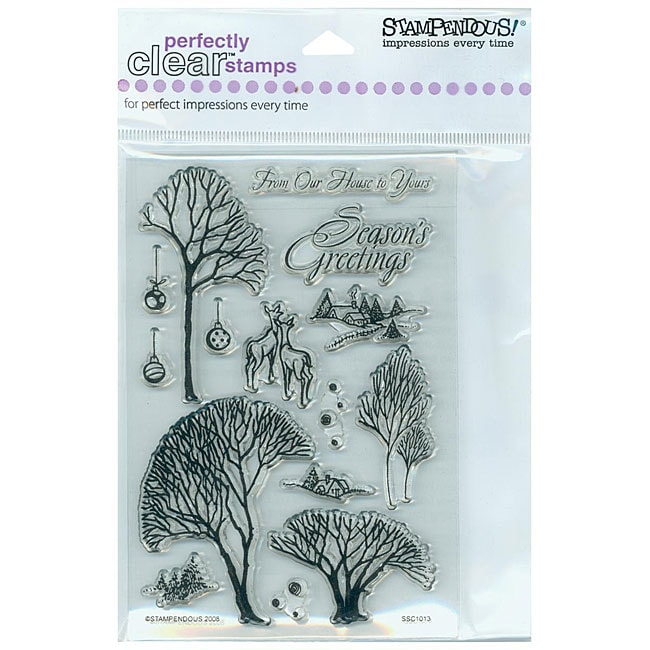 Stampendous 'Winter Trees' Clear Stamps