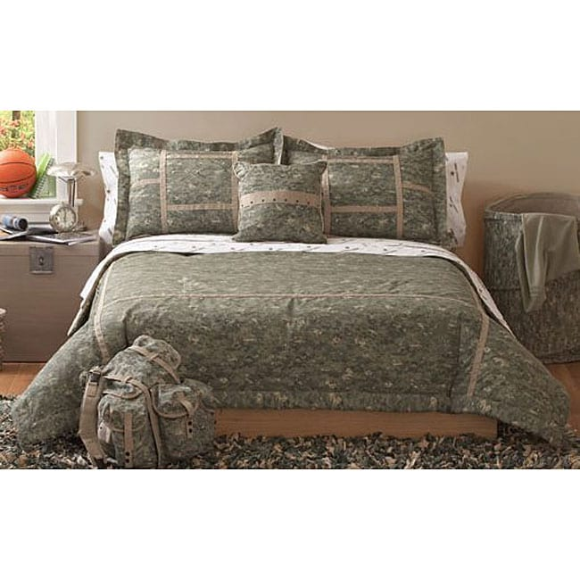 Us Army Boot Camp Comforter Set Free Shipping Today