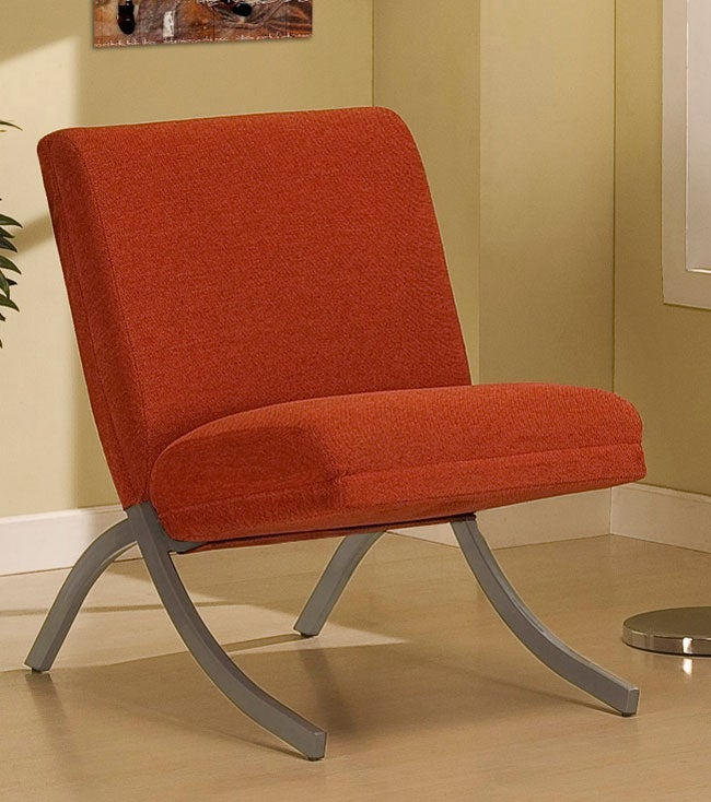 Rialto Flame Armless Chair