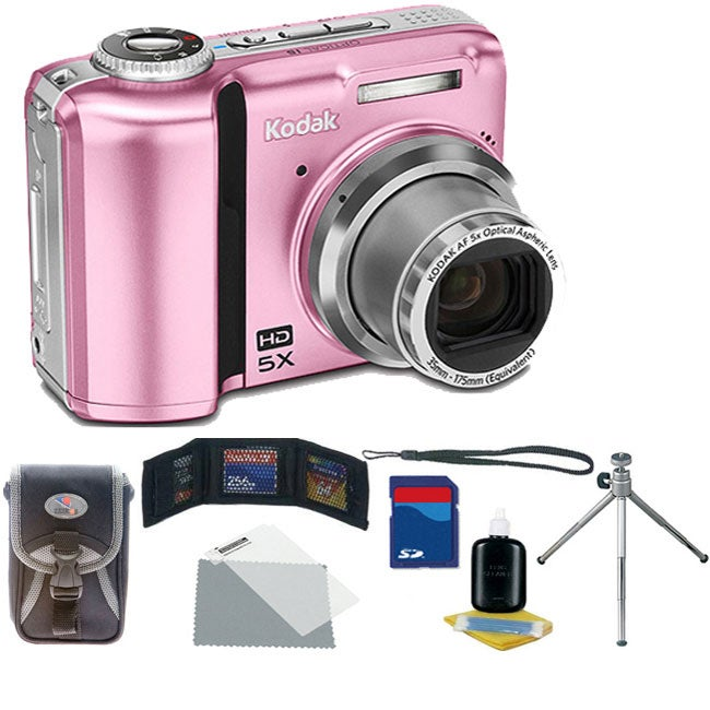 Kodak ES Z1485 14MP Pink Digital Camera (Refurbished) - Thumbnail 0