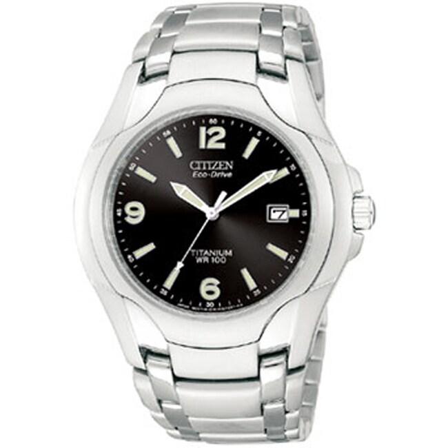 Citizen Eco-Drive Men's Titanium Bracelet Watch