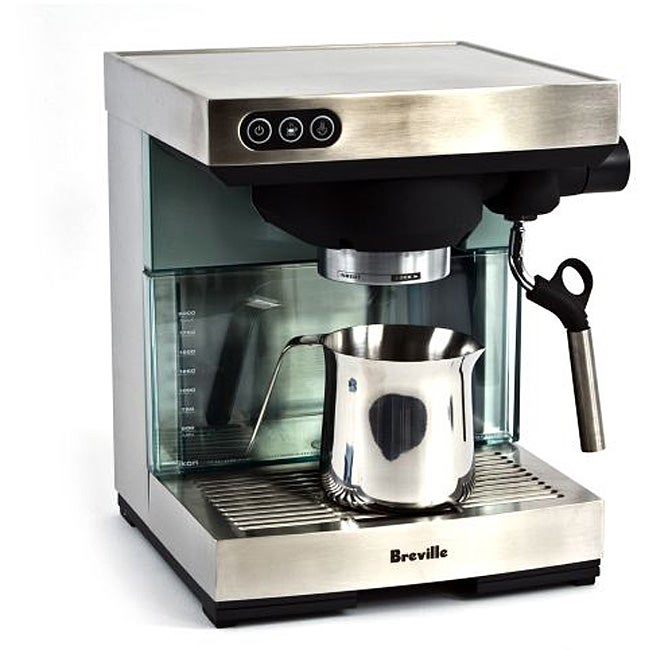 8ef7d1558a Shop Breville XXBES400XL Ikon Espresso Machine (Refurbished) - Free ...