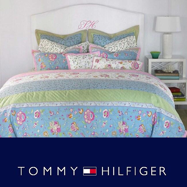 Tommy hilfiger 39 emma 39 comforter set free shipping today 12000270 for Tommy hilfiger bedroom furniture