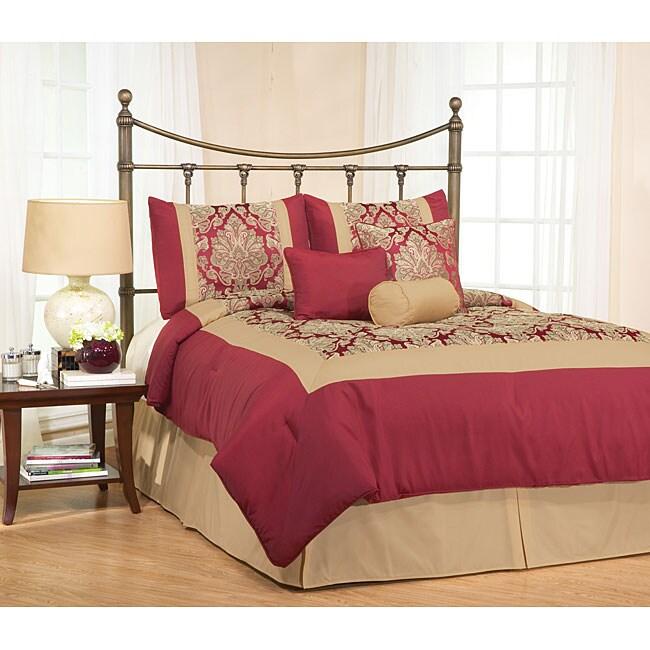 Barton 7-piece Jacquard Comforter Set