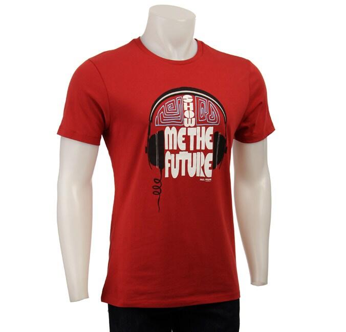FINAL SALE Paul Frank Men's Red Jersey T-shirt