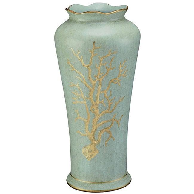 Seafoam Coral Vase