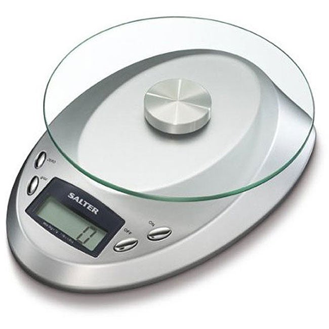 Salter 5 Kg 11 Pound Electronic Kitchen Scale Free
