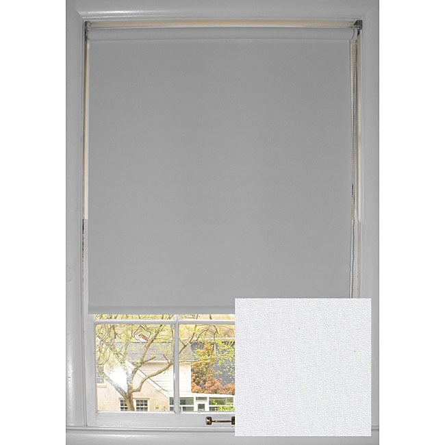Vivid White Room-dimming Roller Shade (72 in. x 72 in.)