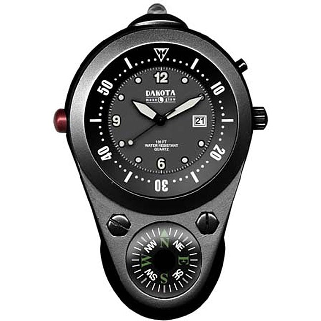 Dakota men 39 s outdoor clip watch free shipping on orders over 45 12010364 for Outdoor watches