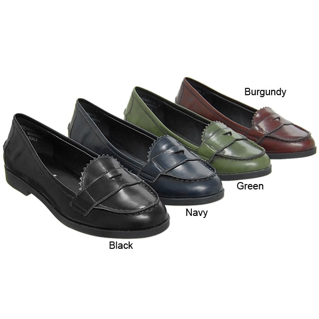 5cc7ca28256 Shop Bamboo by Journee Women s  Penny  Loafers - Free Shipping On Orders  Over  45 - Overstock - 3979149