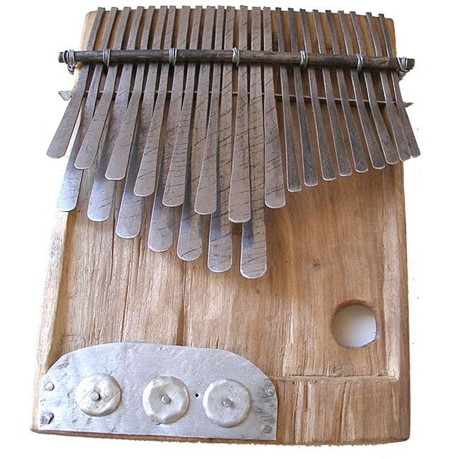 Recycled 24-key Mbira Instrument (Zimbabwe)