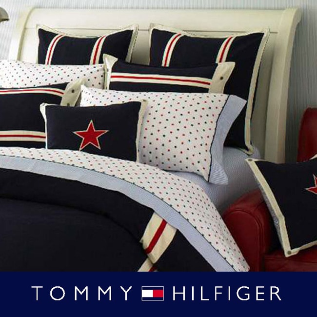 c7d522af8 Shop Tommy Hilfiger American Classics Navy 3-piece Comforter Set - Free  Shipping Today - Overstock - 3987252